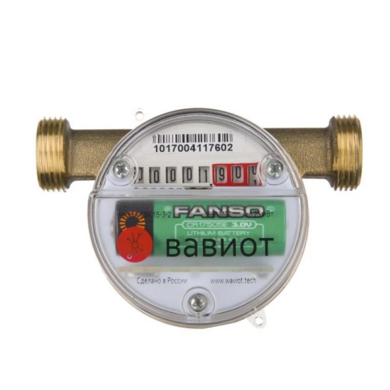 Счетчик воды с радиомодулем АКВА 1